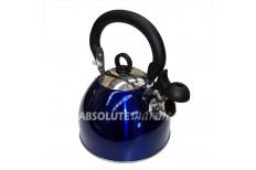 2.5L Whistling Kettle - Blue