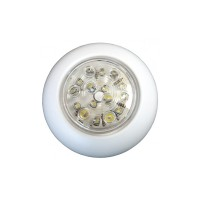 "LED Surface Mount Light - ""push on/off"" 110mm"