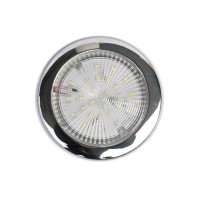 SLIM SS LED DOME LIGHT - Waterproof