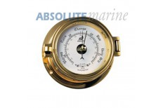 "Plastimo Barometer 3"" Brass Port Hole Style."