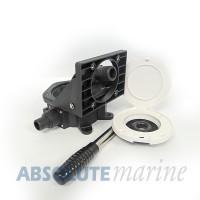Bulkhead Manual Bilge Pump - Nylon 57LPM