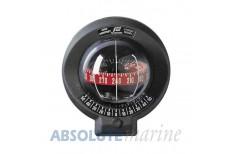 Plastimo Mini Contest Bulkhead Mount Compass Black