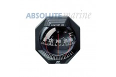 Plastimo Contest 130 Bulkhead Mount Compass - Black
