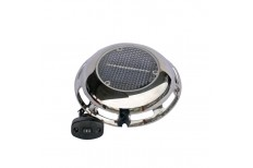 Solar Powered Vent with External 12V Supply