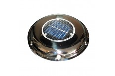Solar Powered Vent SS with Backup Battery
