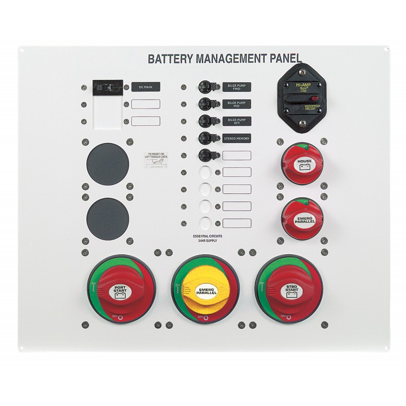 Marine Battery Management System : Bep ms battery management panel absolute marine