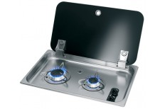Flush Fitting Twin Burner Gas Hob