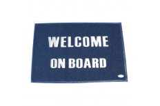 """Welcome Aboard""  Entrance Mat (Large)"