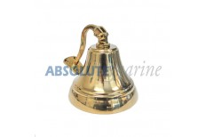 Heavy Duty Brass Ship Bell - 8 inch