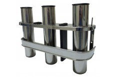 Stainless Triple Rod Rack