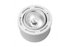 Surfacemount Round 10 watt Light - Swivel Lens