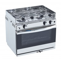 2 Burner Oven with Grill