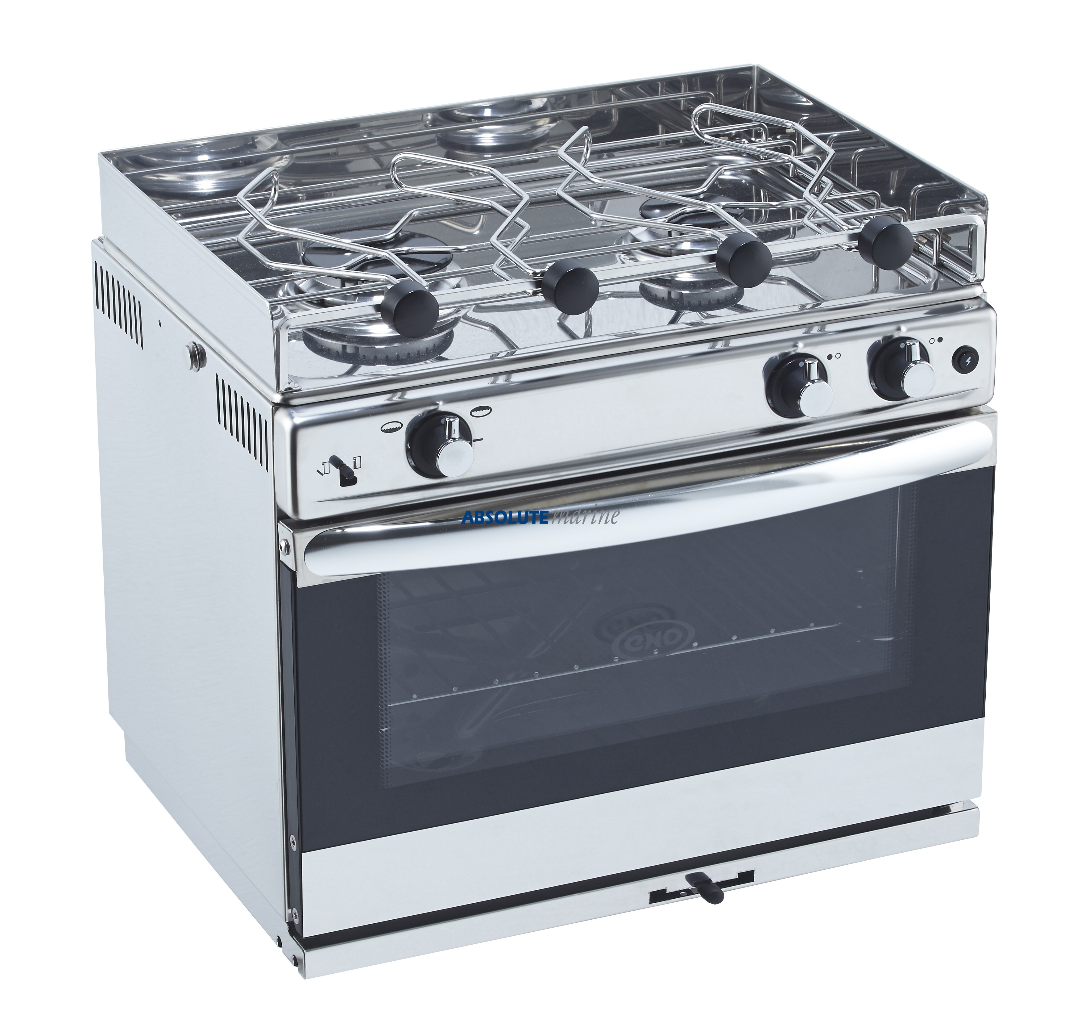 Electric Rv Stove And Oven ~ Eno burner oven with grill open sea absolute marine
