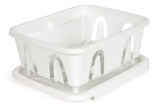 Compact dish drainer for boats and motorhomes