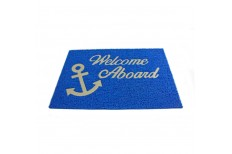 """Welcome On Board"" Mat"