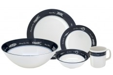 "Dinnerware Set ""Exclusive"", 17 Pieces"