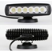 Deck LED Flood Light - Black or White
