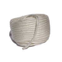 "1/2"" Double Braid Nylon - White"