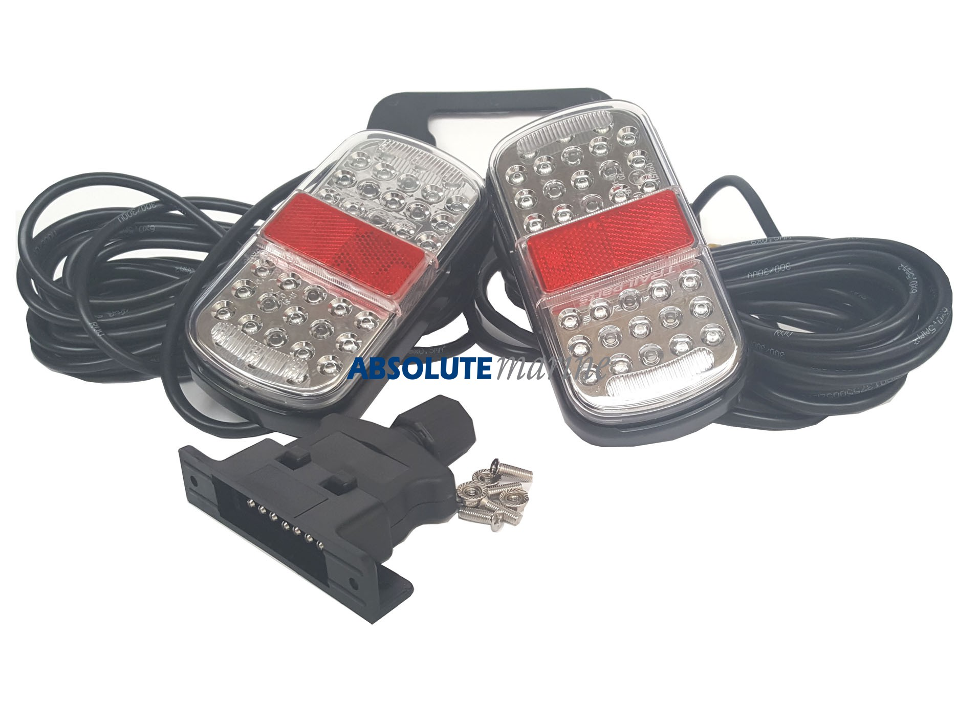 Led Trailer Light Kit 100 Submersible Absolute Marine Wiring