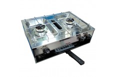 Spinflo Stainless Steel 2 Burner Cooker w/Grill