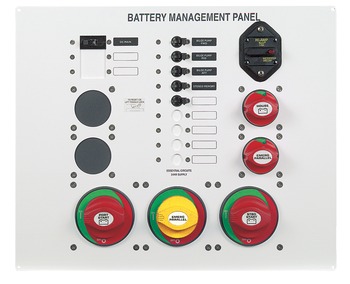 Bep 800 Ms3 Battery Management Panel Absolute Marine Wiring Diagram